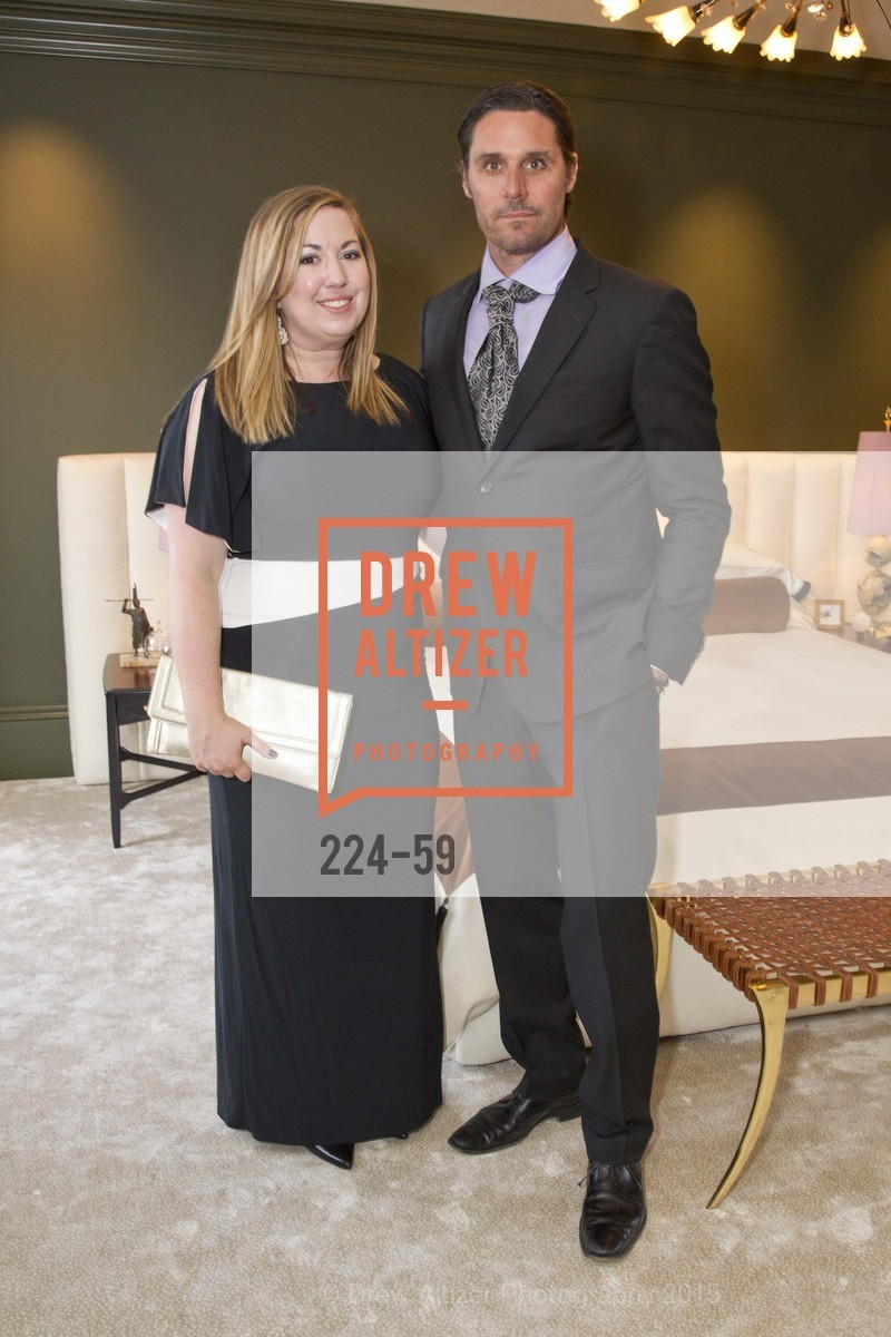 Courtney Springer, Will Wick, San Francisco Decorator Showcase Sponsors Preview Gala, US. 3630 Jackson Street, April 23rd, 2015