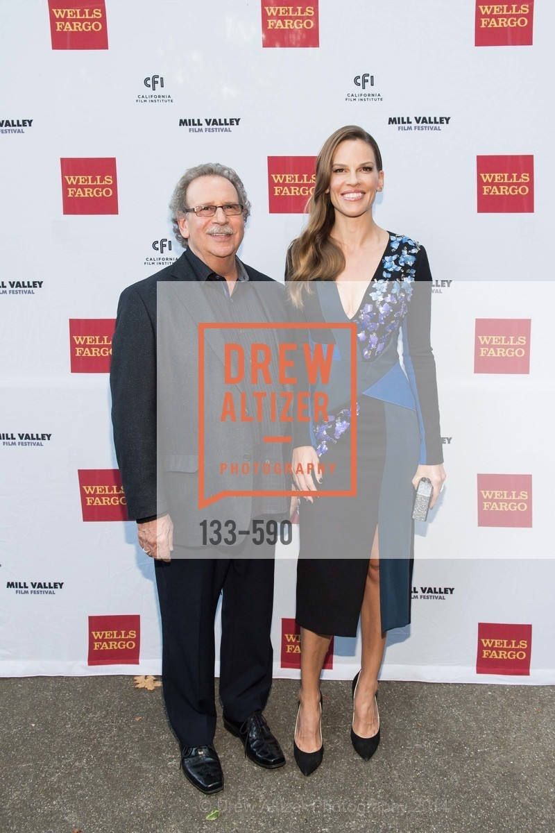 Mark Fishkin, Hilary Swank, Mill Valley Film Festival Opening Night, US, October 3rd, 2014,Drew Altizer, Drew Altizer Photography, full-service agency, private events, San Francisco photographer, photographer california