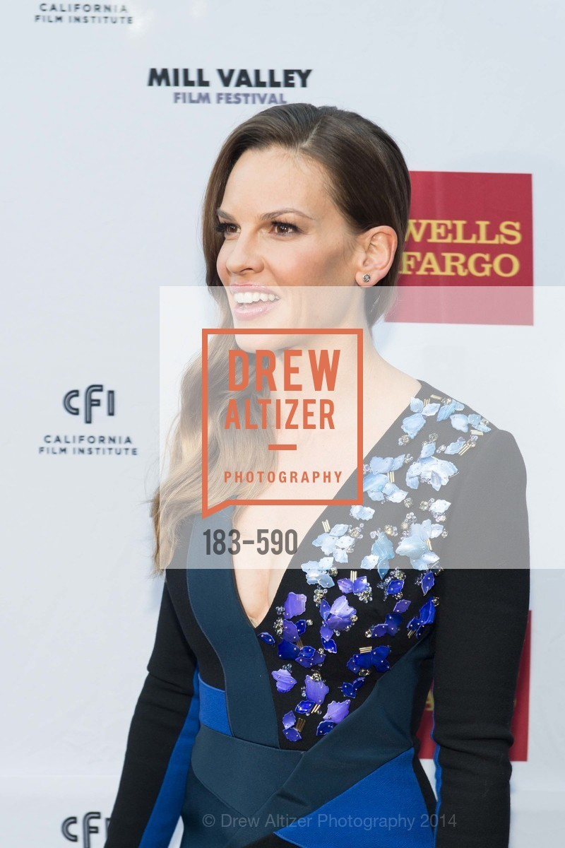 Hilary Swank, Mill Valley Film Festival Opening Night, US, October 3rd, 2014
