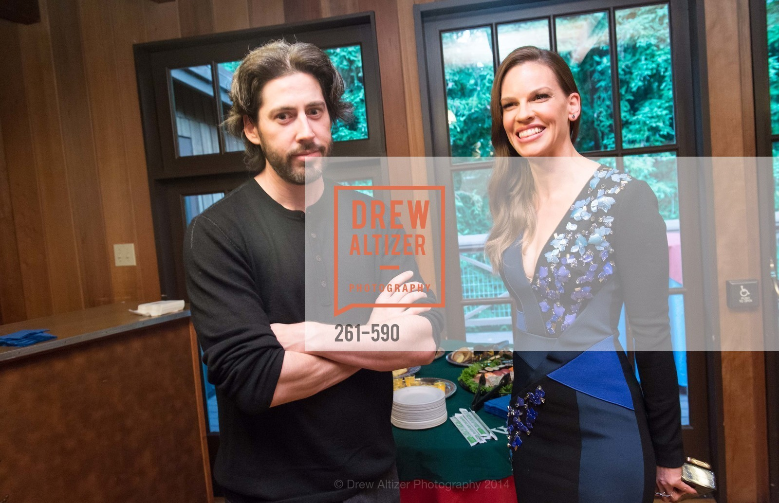 Jason Reitman, Hilary Swank, Mill Valley Film Festival Opening Night, US, October 3rd, 2014,Drew Altizer, Drew Altizer Photography, full-service agency, private events, San Francisco photographer, photographer california