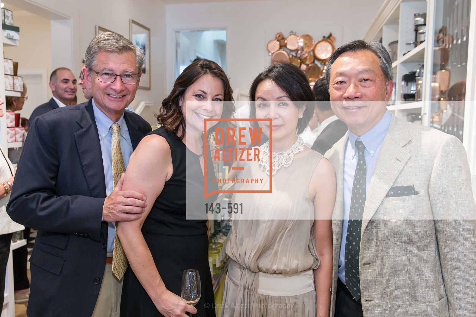 Pat Connolly, Michelle Foss, Helen Cheng, Stanley Cheng, CHUCK WILLIAMS Birthday Celebration, US, October 3rd, 2014,Drew Altizer, Drew Altizer Photography, full-service agency, private events, San Francisco photographer, photographer california