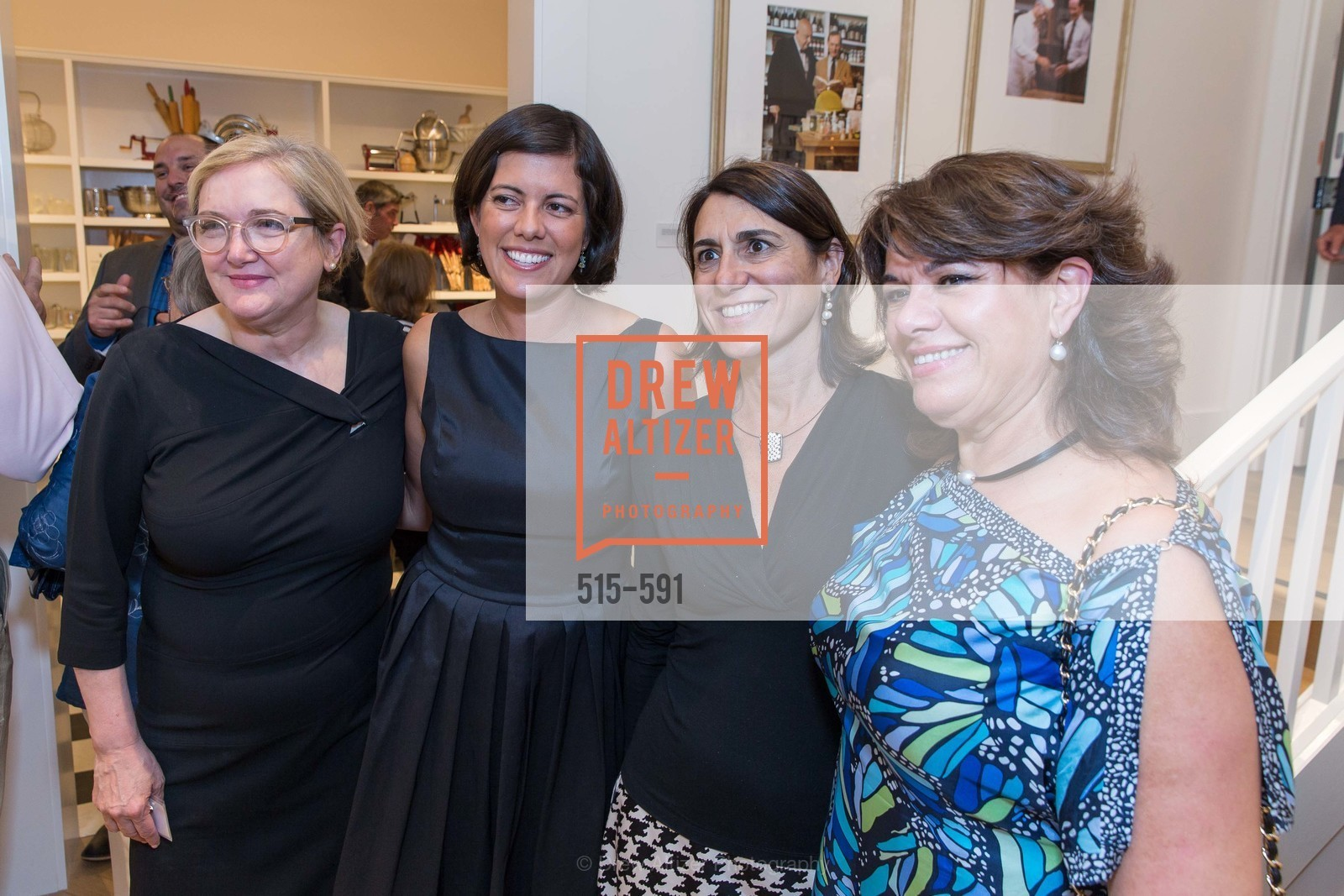 Jean Anderson, Maria Reilly, Eva Bertran, Junny Gonzalez, CHUCK WILLIAMS Birthday Celebration, US, October 2nd, 2014,Drew Altizer, Drew Altizer Photography, full-service agency, private events, San Francisco photographer, photographer california