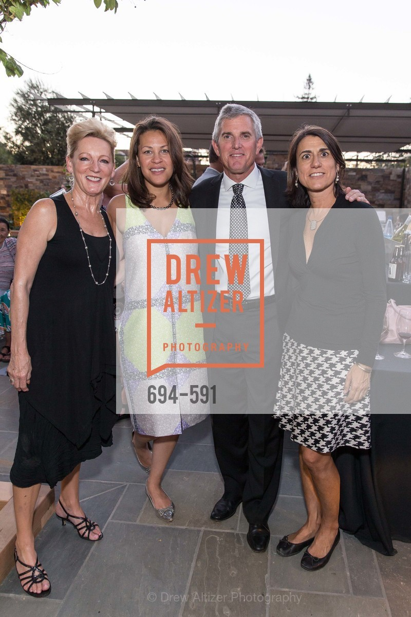 Linda Lewis, Carrie Crespo-Dixon, Tom Rouse, Eva Bertran, CHUCK WILLIAMS Birthday Celebration, US, October 2nd, 2014,Drew Altizer, Drew Altizer Photography, full-service agency, private events, San Francisco photographer, photographer california