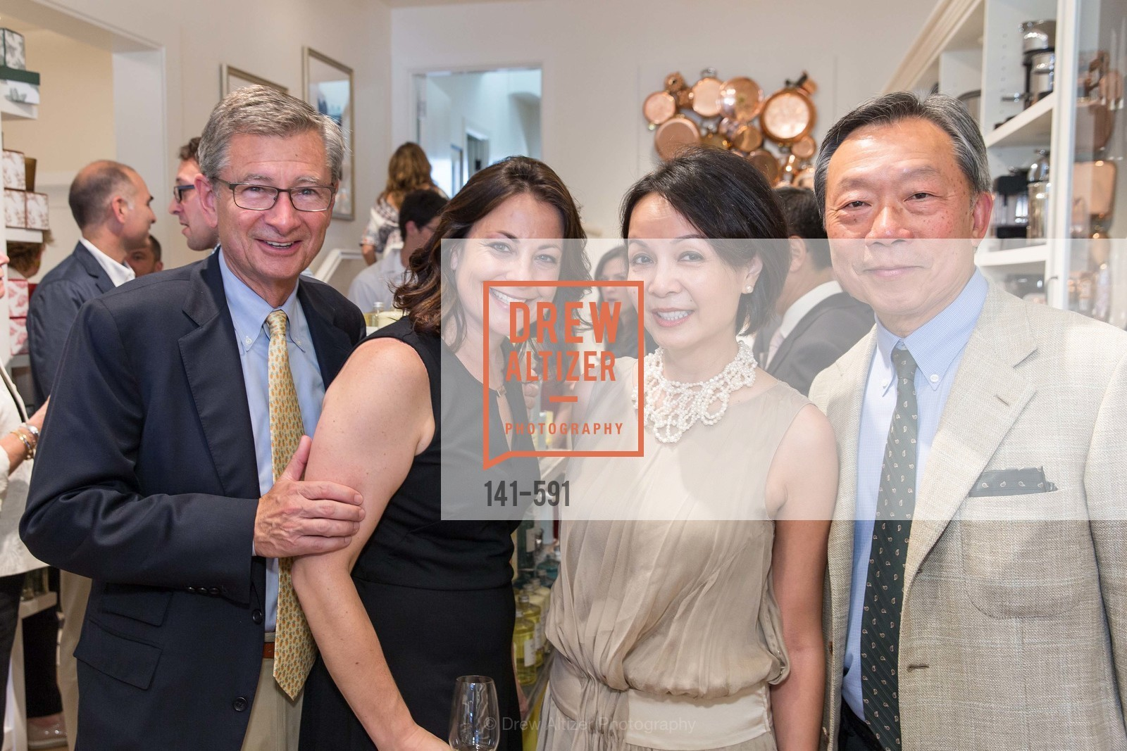 Pat Connolly, Michelle Foss, Helen Cheng, Stanley Cheng, CHUCK WILLIAMS Birthday Celebration, US, October 3rd, 2014,Drew Altizer, Drew Altizer Photography, full-service event agency, private events, San Francisco photographer, photographer California