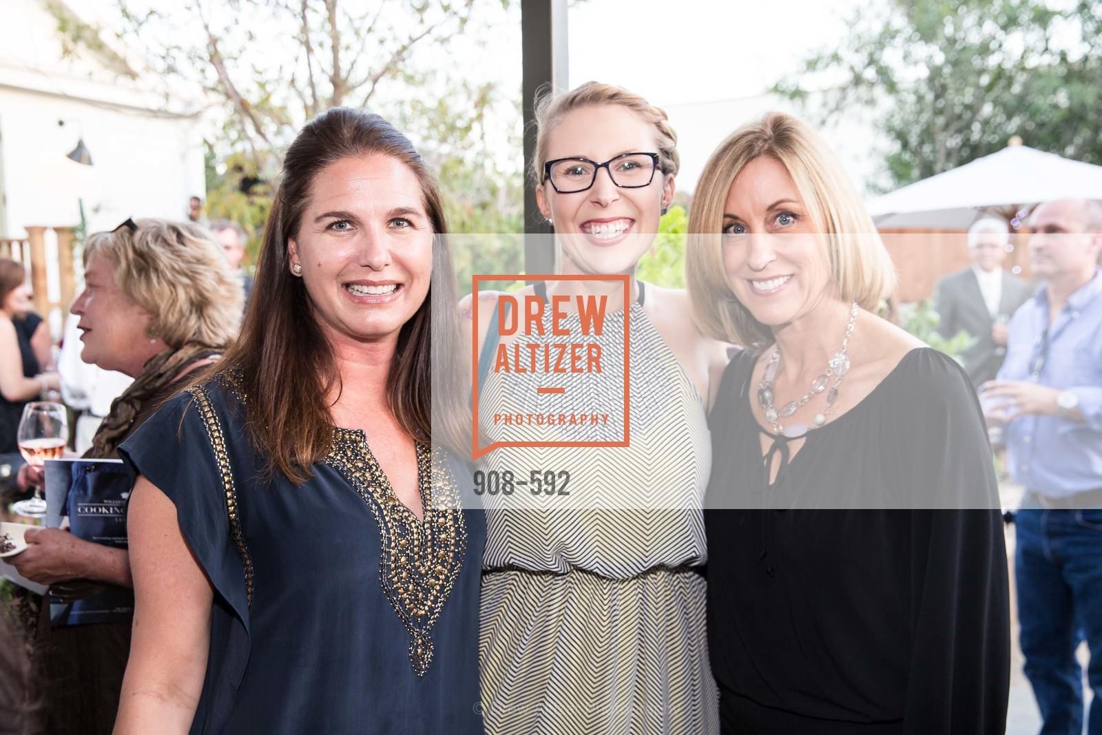 Lisa Newman, Natasha Stocker, Julie Rask, WILLIAMS-SONOMA Cochon BBQ Celebration, US, October 3rd, 2014