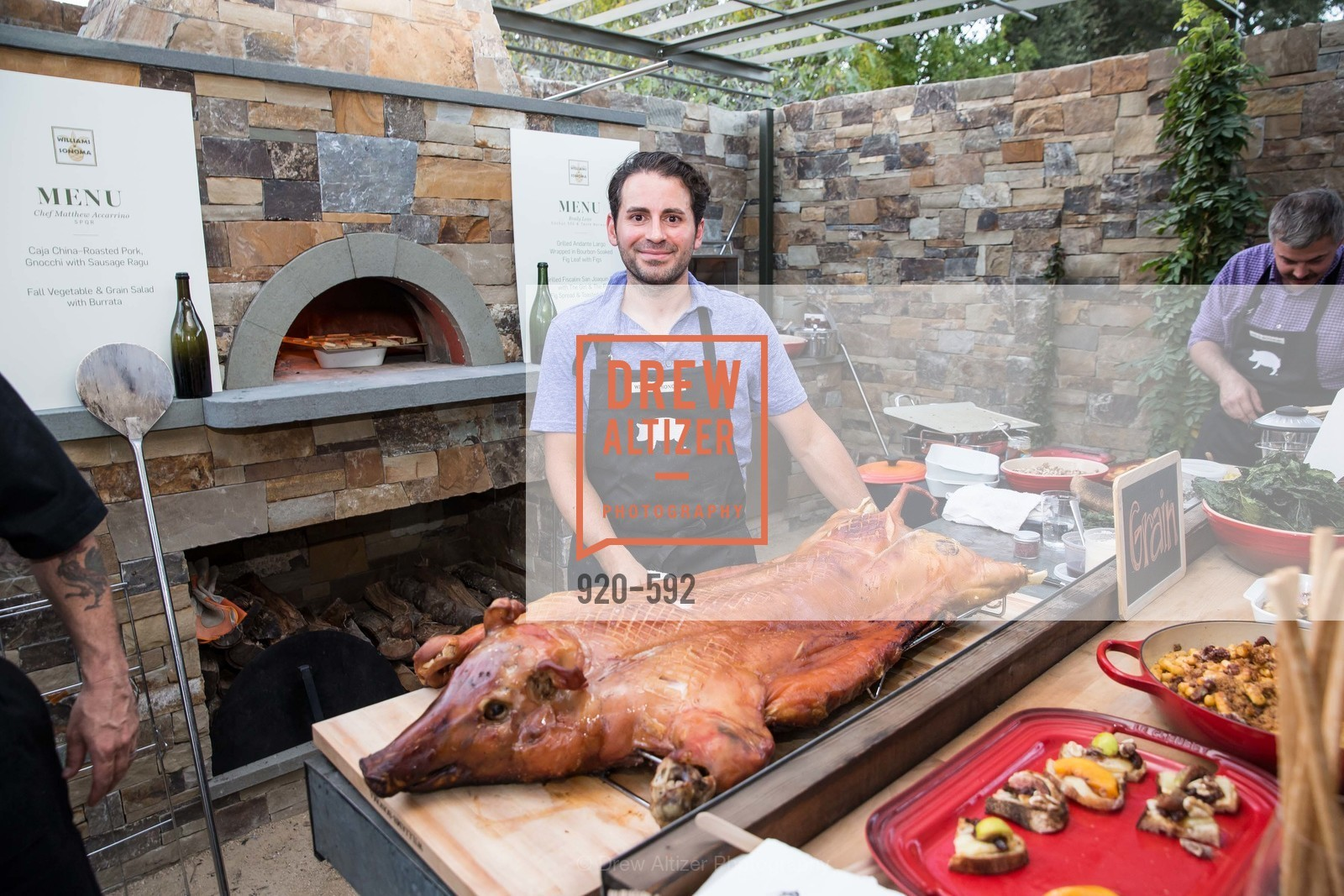 Chef Matthew Accarino, WILLIAMS-SONOMA Cochon BBQ Celebration, US, October 2nd, 2014,Drew Altizer, Drew Altizer Photography, full-service agency, private events, San Francisco photographer, photographer california