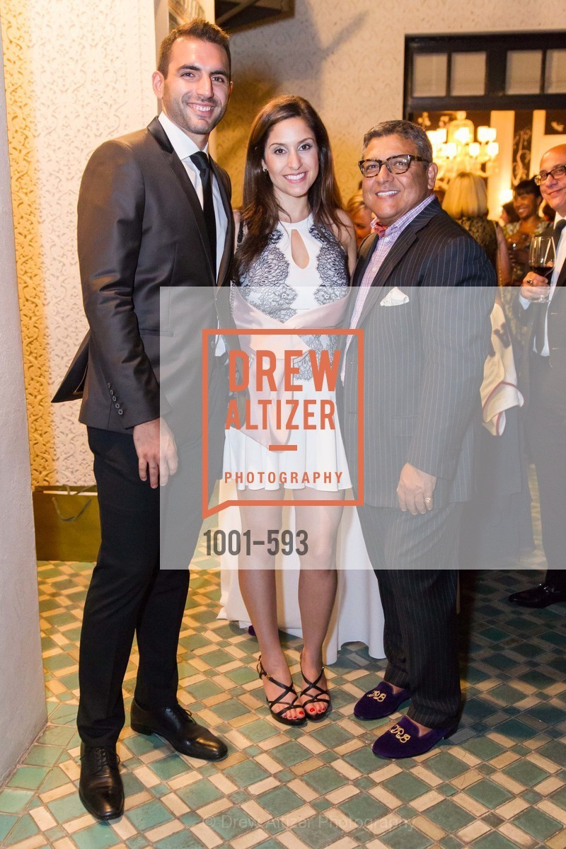 Justin Moayed, Roza Zadeh, Riccardo Benavides, COUTURE FOR A CAUSE, US, October 5th, 2014