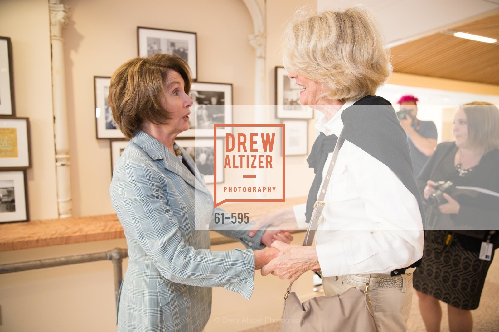 The Honorable Nancy Pelosi, Martha Brigham, ST. ANTHONY'S Dining Room Ribbon Cutting Ceremony, US, October 4th, 2014,Drew Altizer, Drew Altizer Photography, full-service agency, private events, San Francisco photographer, photographer california