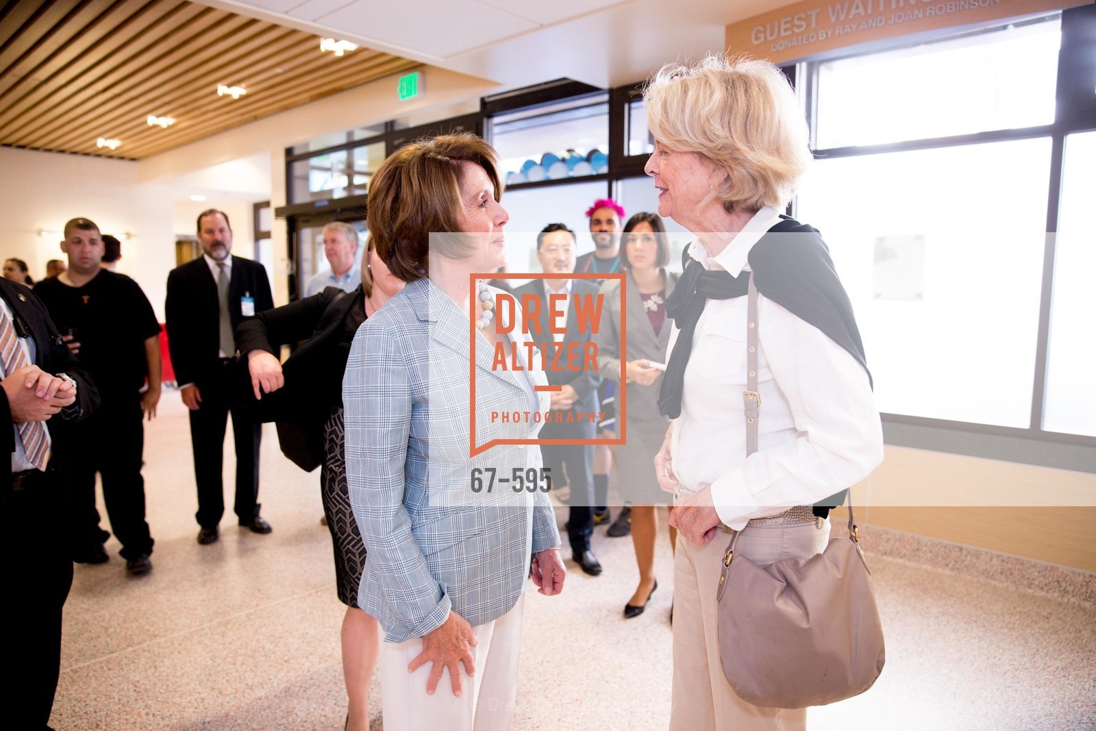 Nancy Pelosi, Martha Brigham, ST. ANTHONY'S Dining Room Ribbon Cutting Ceremony, US, October 5th, 2014,Drew Altizer, Drew Altizer Photography, full-service agency, private events, San Francisco photographer, photographer california