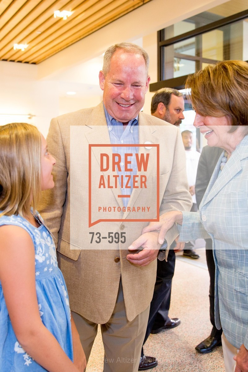 Doug Davis, The Honorable Nancy Pelosi, ST. ANTHONY'S Dining Room Ribbon Cutting Ceremony, US, October 4th, 2014,Drew Altizer, Drew Altizer Photography, full-service agency, private events, San Francisco photographer, photographer california