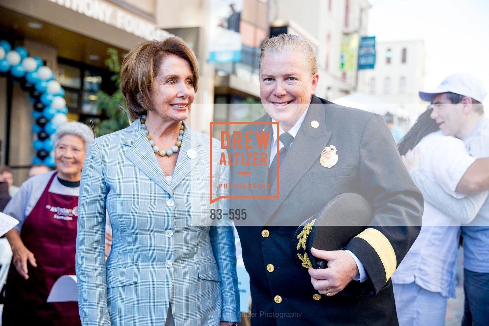 The Honorable Nancy Pelosi, Joanne Hayes-White, ST. ANTHONY'S Dining Room Ribbon Cutting Ceremony, US, October 4th, 2014,Drew Altizer, Drew Altizer Photography, full-service agency, private events, San Francisco photographer, photographer california