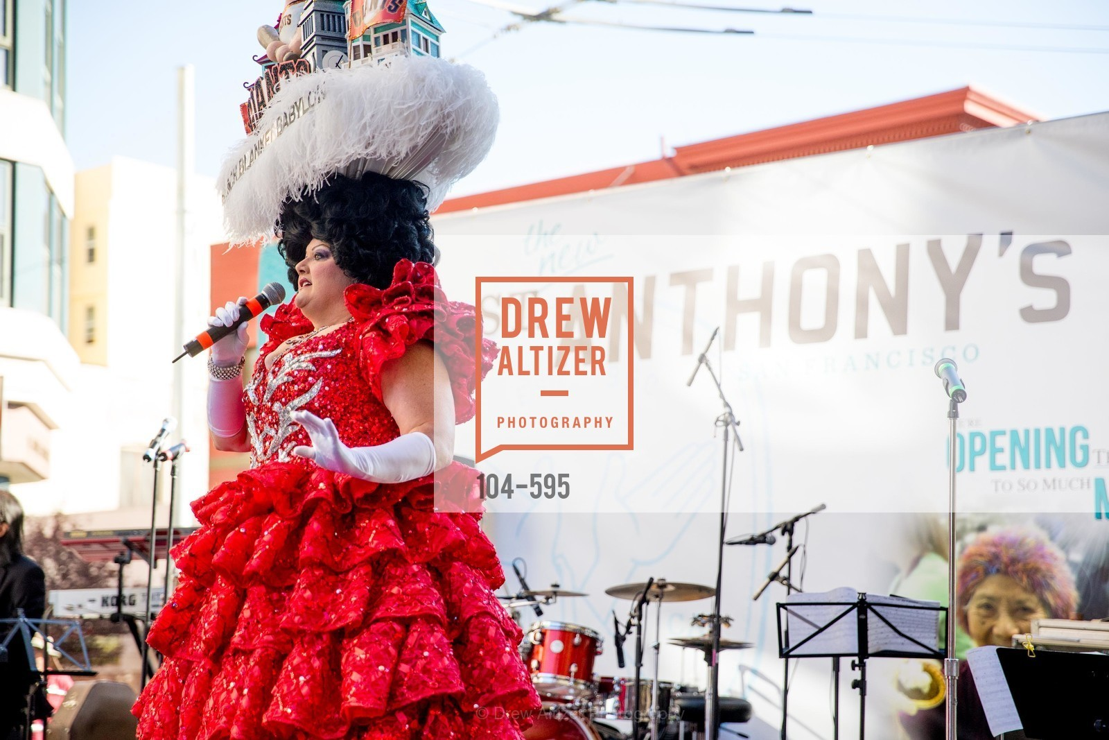 Beach Blanket Babylon, ST. ANTHONY'S Dining Room Ribbon Cutting Ceremony, US, October 5th, 2014,Drew Altizer, Drew Altizer Photography, full-service agency, private events, San Francisco photographer, photographer california