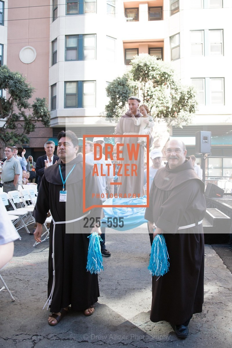 Father Jose Nerio, ST. ANTHONY'S Dining Room Ribbon Cutting Ceremony, US, October 4th, 2014,Drew Altizer, Drew Altizer Photography, full-service agency, private events, San Francisco photographer, photographer california