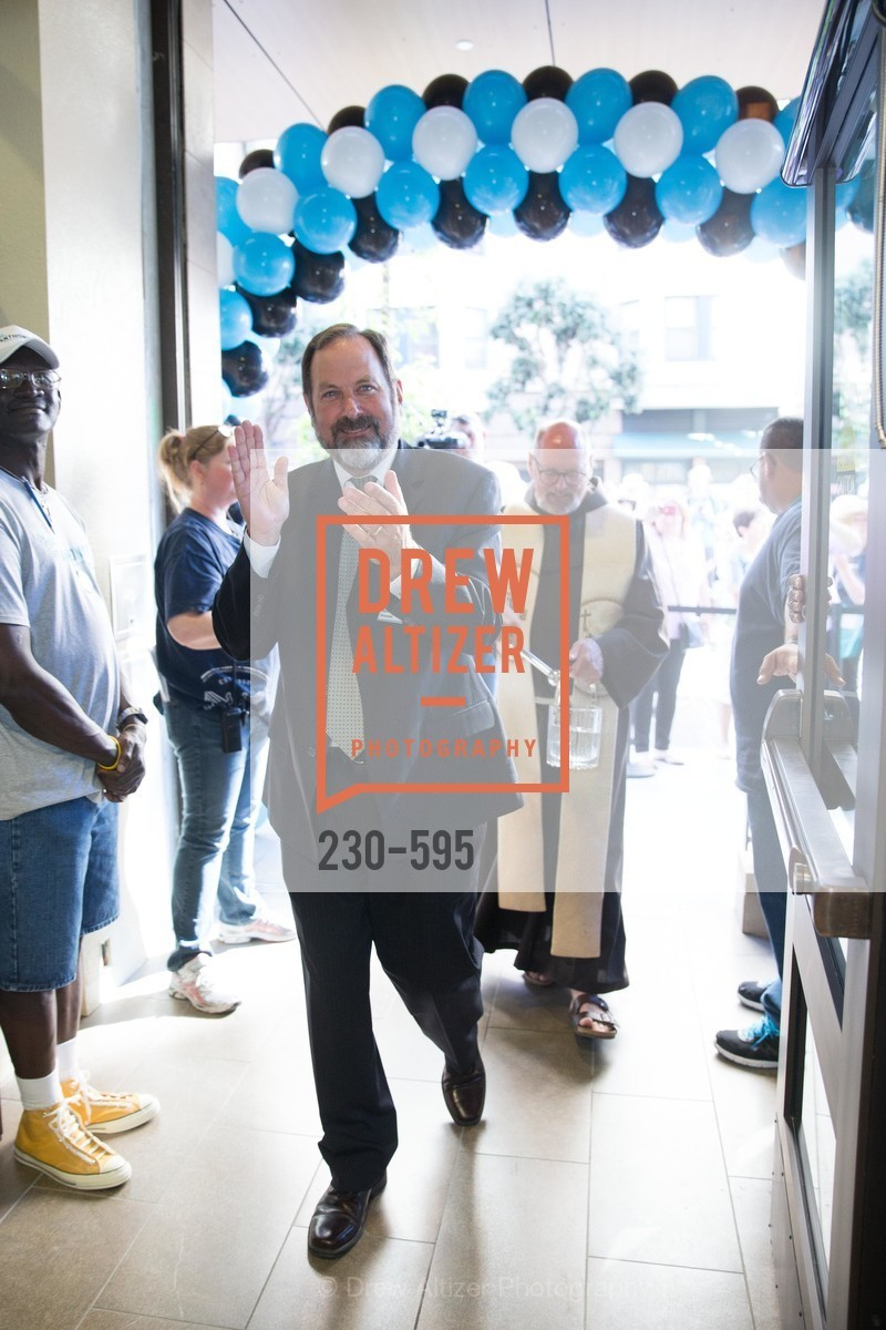 Barry Stenger, ST. ANTHONY'S Dining Room Ribbon Cutting Ceremony, US, October 5th, 2014,Drew Altizer, Drew Altizer Photography, full-service agency, private events, San Francisco photographer, photographer california
