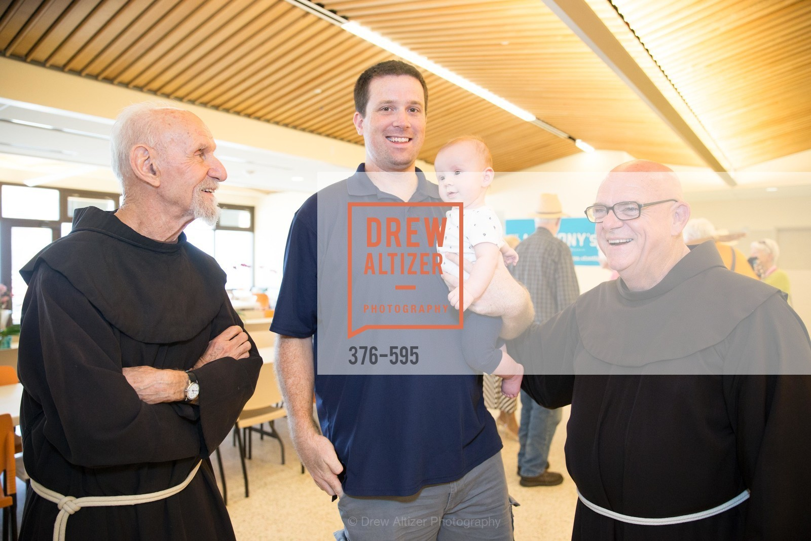 Caleb Webster, Father Bob Brady, ST. ANTHONY'S Dining Room Ribbon Cutting Ceremony, US, October 5th, 2014,Drew Altizer, Drew Altizer Photography, full-service agency, private events, San Francisco photographer, photographer california