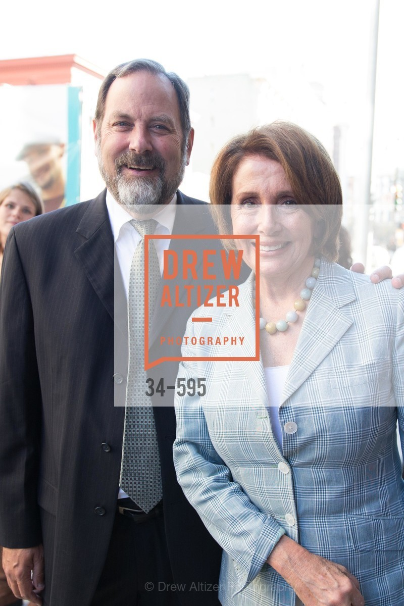 Barry Stenger, The Honorable Nancy Pelosi, ST. ANTHONY'S Dining Room Ribbon Cutting Ceremony, US, October 4th, 2014,Drew Altizer, Drew Altizer Photography, full-service agency, private events, San Francisco photographer, photographer california