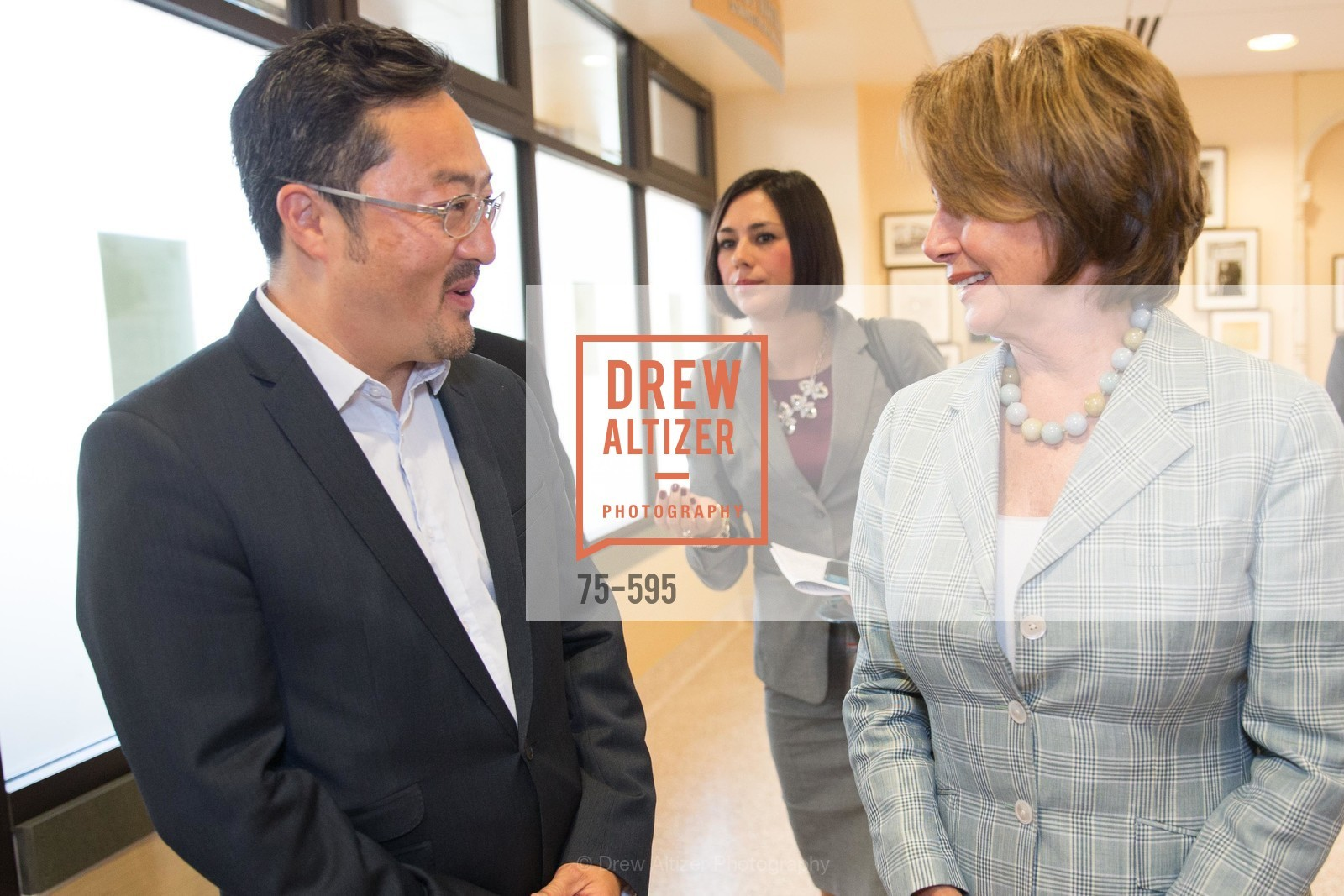 Kyu Chew, Nancy Pelosi, ST. ANTHONY'S Dining Room Ribbon Cutting Ceremony, US, October 5th, 2014
