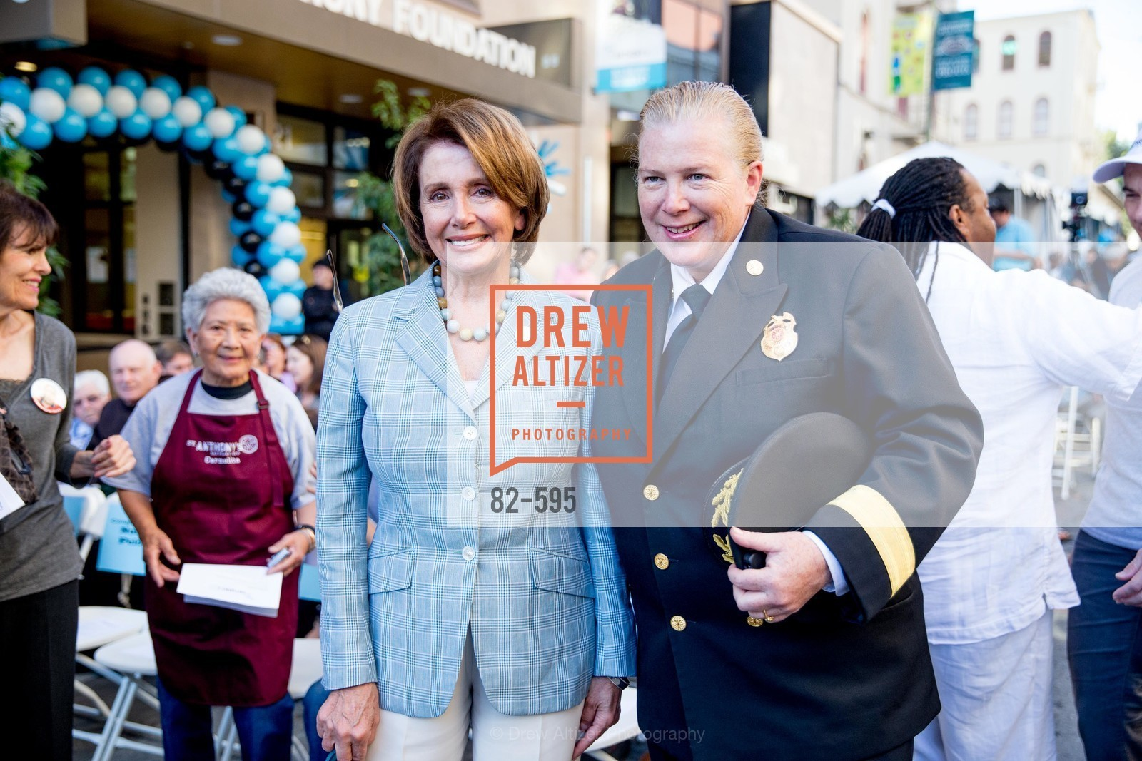 Nancy Pelosi, Joanne Hayes-White, ST. ANTHONY'S Dining Room Ribbon Cutting Ceremony, US, October 5th, 2014,Drew Altizer, Drew Altizer Photography, full-service agency, private events, San Francisco photographer, photographer california