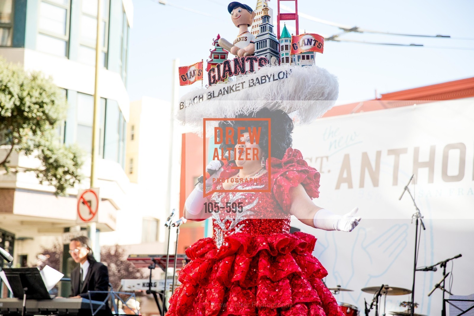 Beach Blanket Babylon, ST. ANTHONY'S Dining Room Ribbon Cutting Ceremony, US, October 4th, 2014,Drew Altizer, Drew Altizer Photography, full-service agency, private events, San Francisco photographer, photographer california