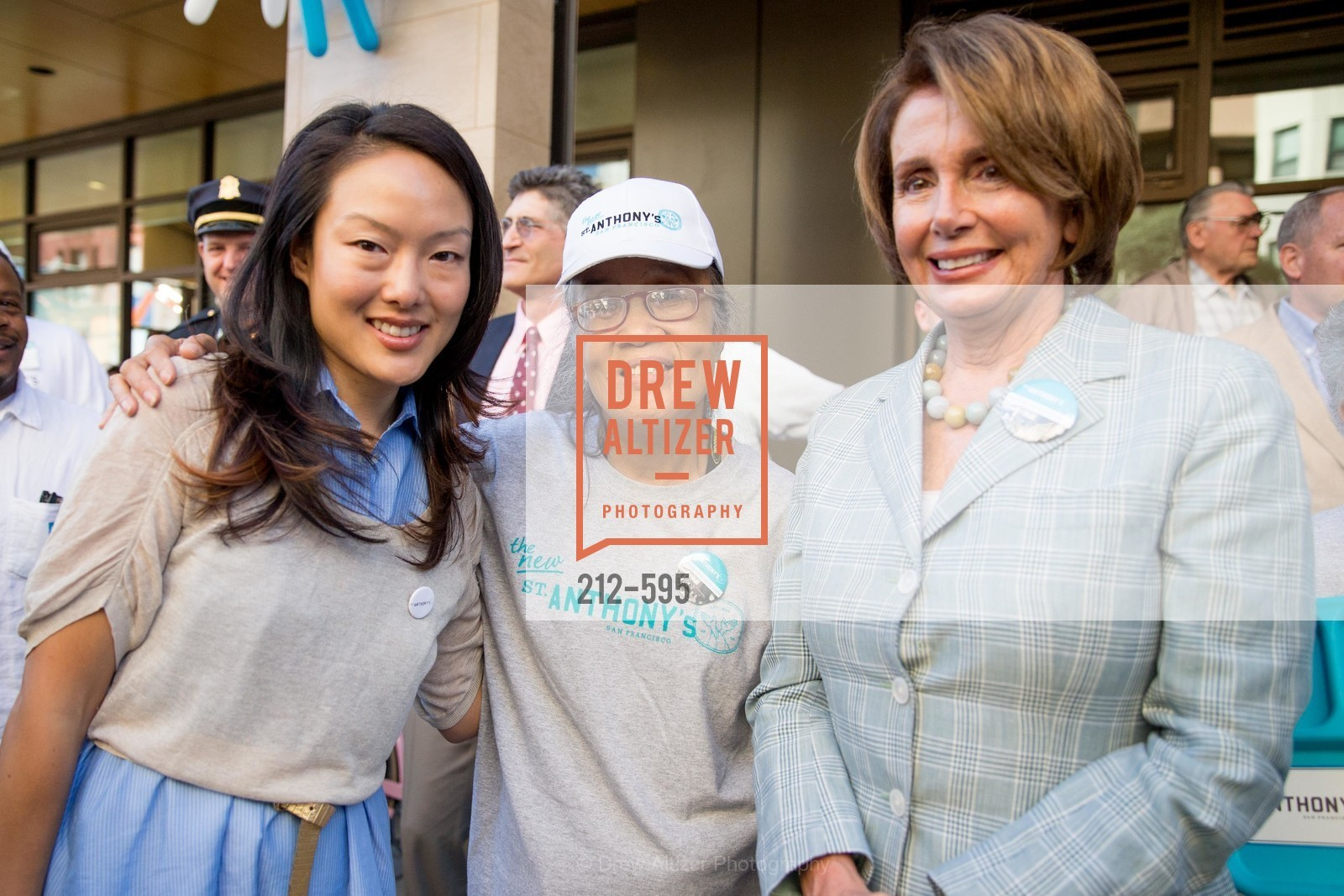 Jane Kim, Marilyn Chan, Nancy Pelosi, ST. ANTHONY'S Dining Room Ribbon Cutting Ceremony, US, October 5th, 2014,Drew Altizer, Drew Altizer Photography, full-service agency, private events, San Francisco photographer, photographer california