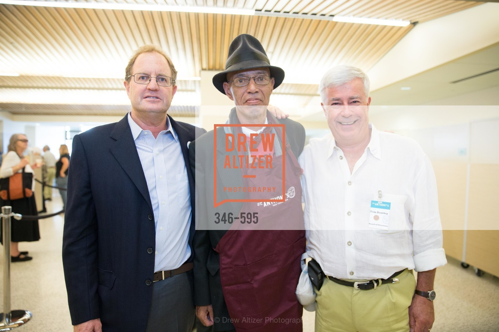 Michael Parish, Del Seymour, Tom Bentley, ST. ANTHONY'S Dining Room Ribbon Cutting Ceremony, US, October 4th, 2014,Drew Altizer, Drew Altizer Photography, full-service agency, private events, San Francisco photographer, photographer california
