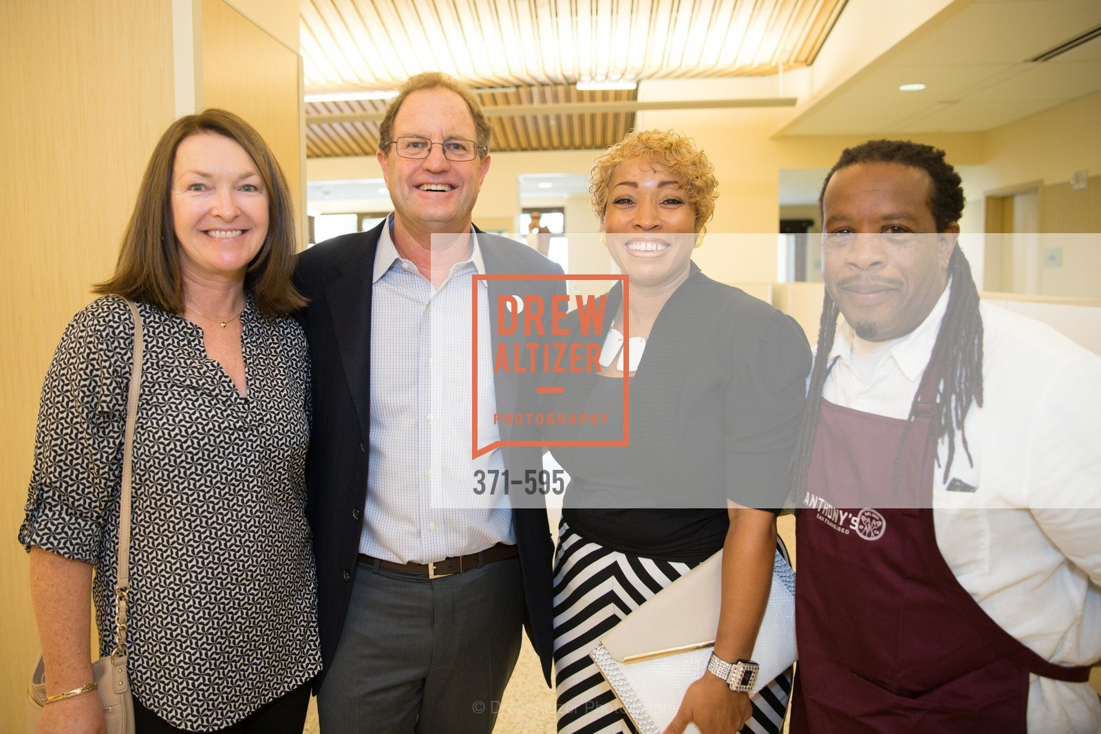 Anne Parish, Michael Parish, Karen Hopper, Tyrone Hopper, ST. ANTHONY'S Dining Room Ribbon Cutting Ceremony, US, October 5th, 2014,Drew Altizer, Drew Altizer Photography, full-service agency, private events, San Francisco photographer, photographer california