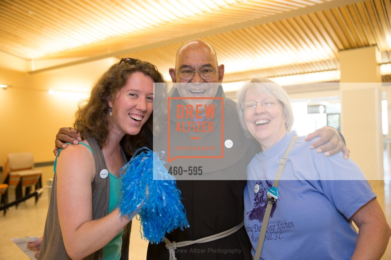 Christine Kehner, Brother John Gutierrez, Susan Schaeffer, ST. ANTHONY'S Dining Room Ribbon Cutting Ceremony, US, October 5th, 2014,Drew Altizer, Drew Altizer Photography, full-service event agency, private events, San Francisco photographer, photographer California