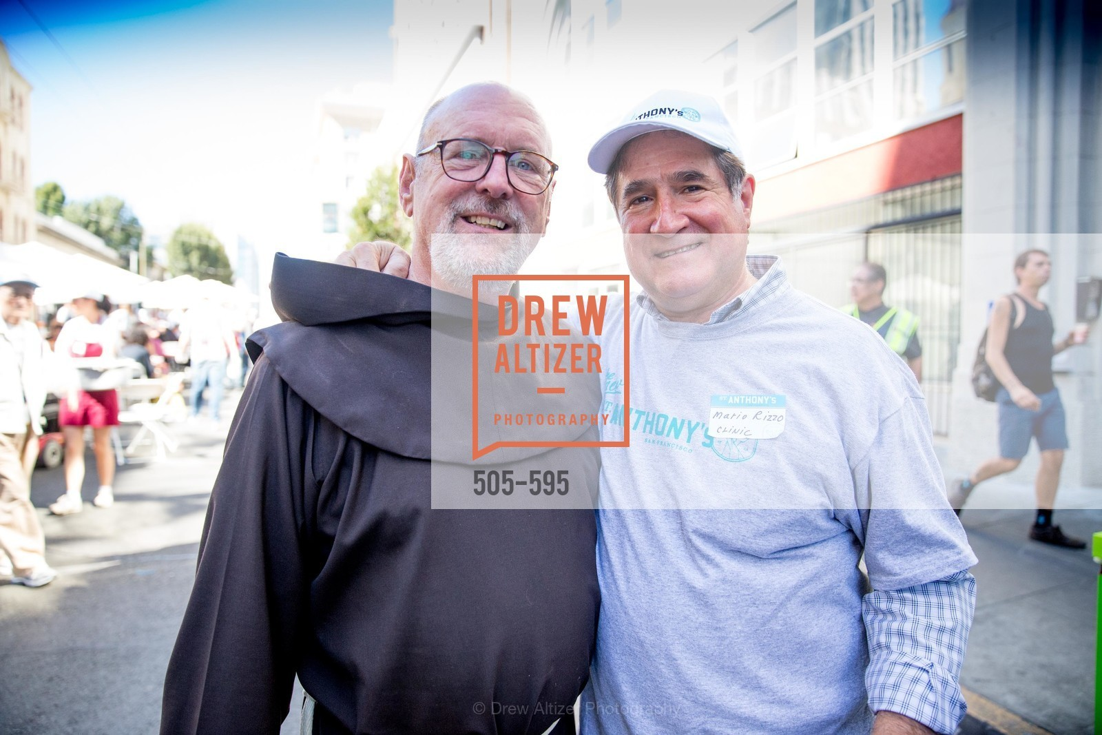 Father John Hardin, Mari Rizzo, ST. ANTHONY'S Dining Room Ribbon Cutting Ceremony, US, October 5th, 2014,Drew Altizer, Drew Altizer Photography, full-service agency, private events, San Francisco photographer, photographer california