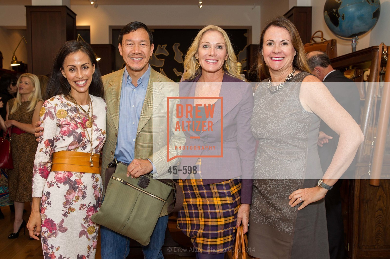 Pam Bristow, Tim Wu, Rosemary Baker, Tanya Peterson, GHURKA FALL FASHION Press Preview Honoring the ZOO BOARD, US, October 7th, 2014,Drew Altizer, Drew Altizer Photography, full-service agency, private events, San Francisco photographer, photographer california