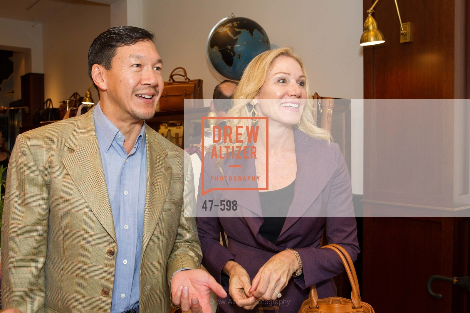 Tim Wu, Rosemary Baker, GHURKA FALL FASHION Press Preview Honoring the ZOO BOARD, US, October 7th, 2014,Drew Altizer, Drew Altizer Photography, full-service agency, private events, San Francisco photographer, photographer california