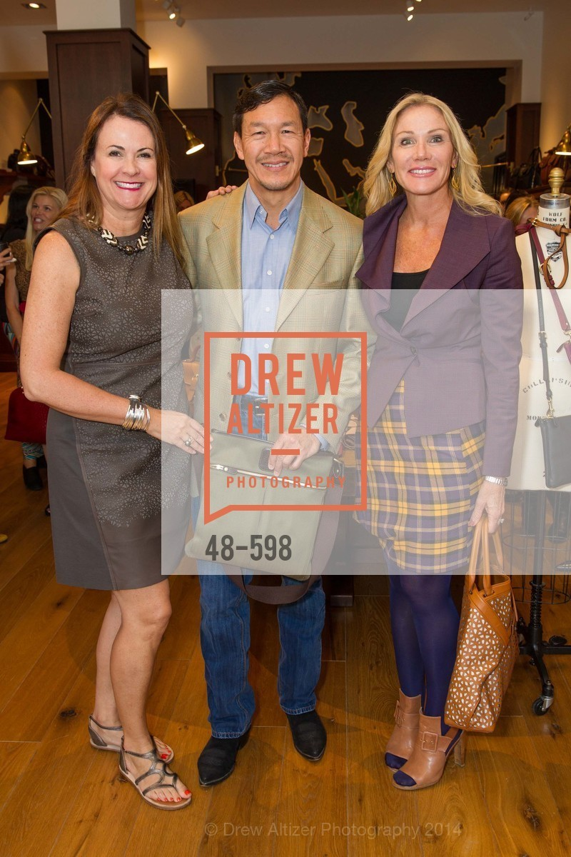 Tanya Peterson, Tim Wu, Rosemary Baker, GHURKA FALL FASHION Press Preview Honoring the ZOO BOARD, US, October 7th, 2014,Drew Altizer, Drew Altizer Photography, full-service agency, private events, San Francisco photographer, photographer california