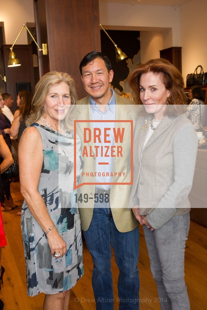 Janie Friend, Tim Wu, Brenda Jewett, GHURKA FALL FASHION Press Preview Honoring the ZOO BOARD, US, October 7th, 2014,Drew Altizer, Drew Altizer Photography, full-service agency, private events, San Francisco photographer, photographer california