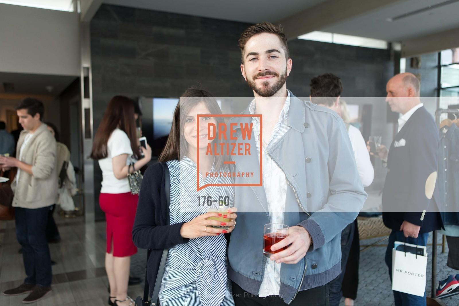 Shaunet Ravouna, Sam Howell, MR PORTER Celebrate The San Francisco Issue of The Journal, The Battery Rooftop - The Battery SF, April 23rd, 2015,Drew Altizer, Drew Altizer Photography, full-service agency, private events, San Francisco photographer, photographer california