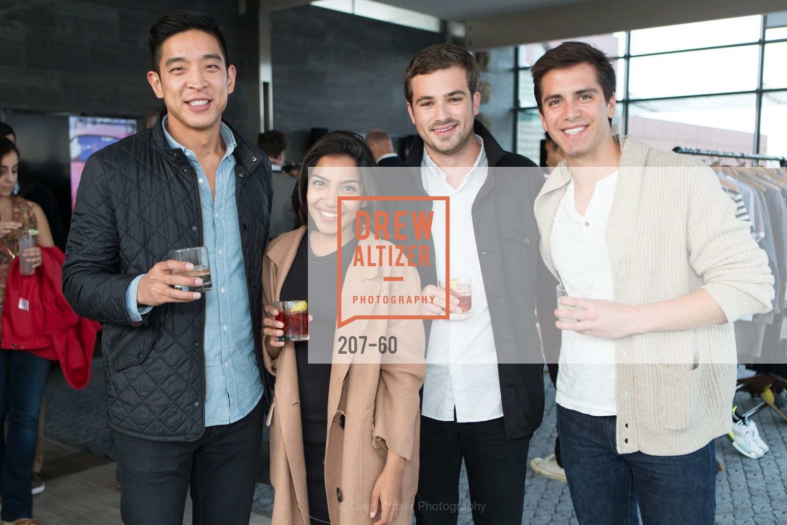 Alex Kim, Zara Rahim, Austin Geidt, Thomas Wilson, MR PORTER Celebrate The San Francisco Issue of The Journal, The Battery Rooftop - The Battery SF, April 23rd, 2015,Drew Altizer, Drew Altizer Photography, full-service agency, private events, San Francisco photographer, photographer california
