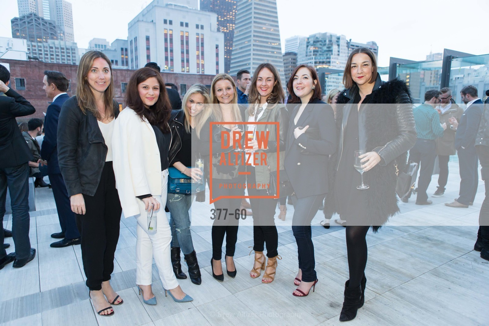 Lydia Williams, Segal Hanarvar, Sherry Alexander, Kristin Cat, Lauren Elrich, Nicole Russo, Lupe Puerta, MR PORTER Celebrate The San Francisco Issue of The Journal, The Battery Rooftop - The Battery SF, April 23rd, 2015,Drew Altizer, Drew Altizer Photography, full-service agency, private events, San Francisco photographer, photographer california