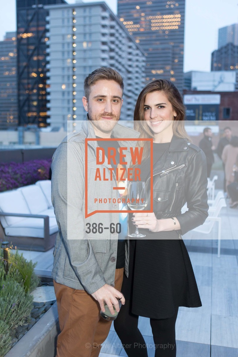 Brian Delaney, Nicole Siatti, MR PORTER Celebrate The San Francisco Issue of The Journal, The Battery Rooftop - The Battery SF, April 23rd, 2015,Drew Altizer, Drew Altizer Photography, full-service agency, private events, San Francisco photographer, photographer california
