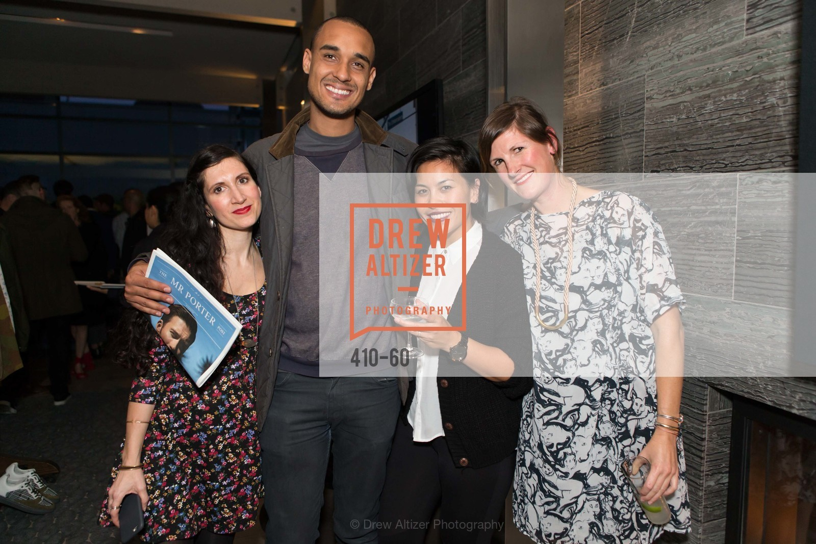 Rhonda Mendez, Stefan DeClerq, Cecelia Applelin, Maya Cochlin, MR PORTER Celebrate The San Francisco Issue of The Journal, The Battery Rooftop - The Battery SF, April 23rd, 2015,Drew Altizer, Drew Altizer Photography, full-service agency, private events, San Francisco photographer, photographer california