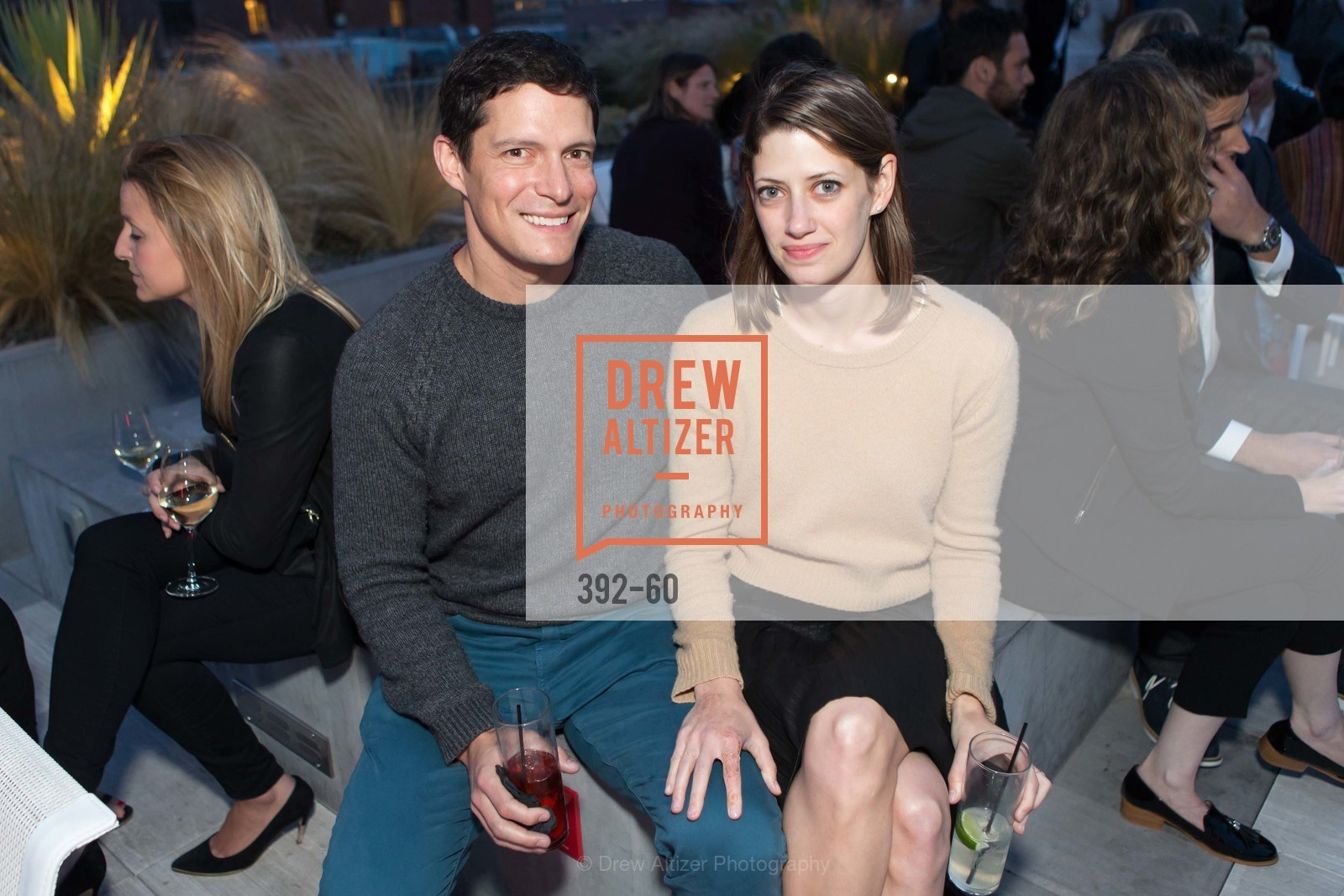 Noah Yago, Alyza Edelstein, MR PORTER Celebrate The San Francisco Issue of The Journal, The Battery Rooftop - The Battery SF, April 23rd, 2015,Drew Altizer, Drew Altizer Photography, full-service agency, private events, San Francisco photographer, photographer california
