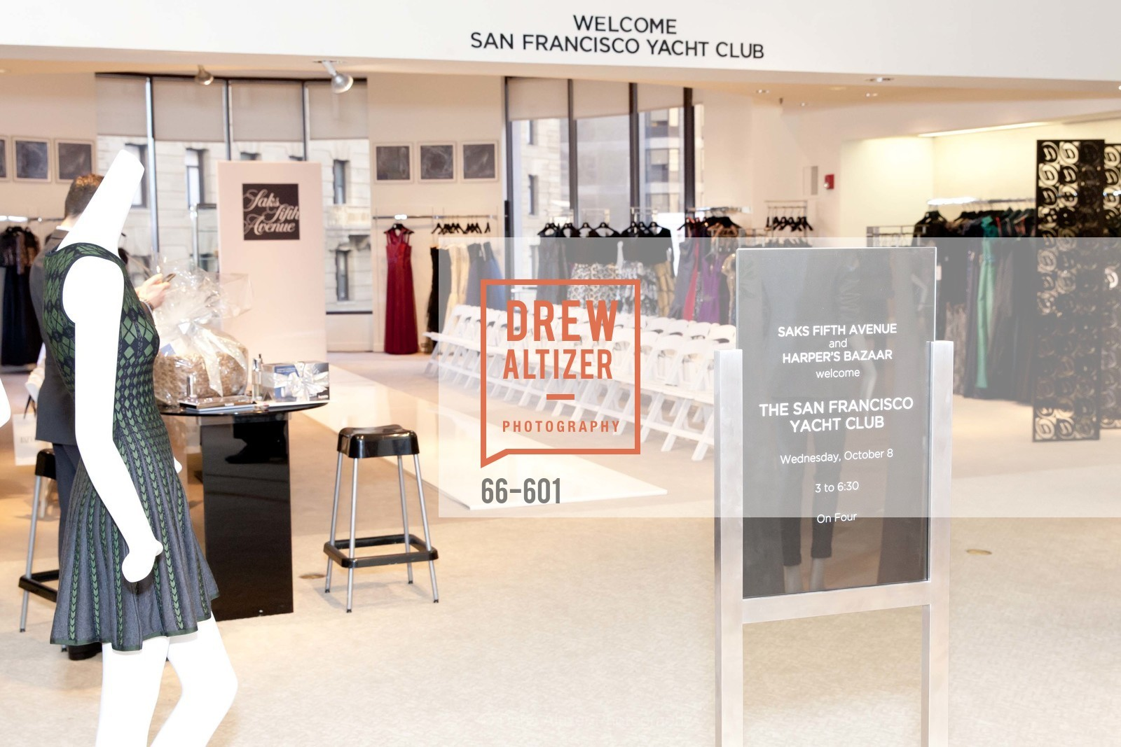 Atmosphere, SAKS FIFTH AVENUE and HARPER'S BAZAAR Host the San Francisco Yacht Club, US, October 8th, 2014,Drew Altizer, Drew Altizer Photography, full-service agency, private events, San Francisco photographer, photographer california
