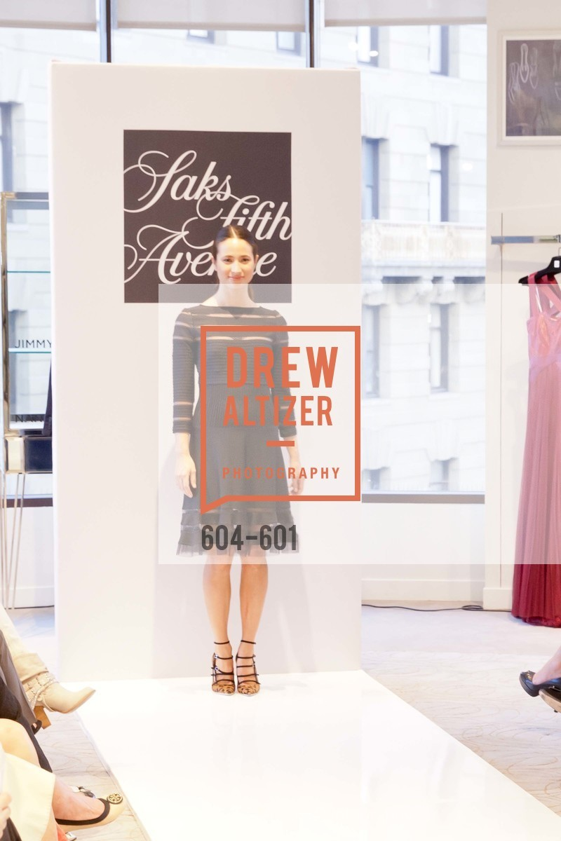 Fashion Show, SAKS FIFTH AVENUE and HARPER'S BAZAAR Host the San Francisco Yacht Club, US, October 9th, 2014