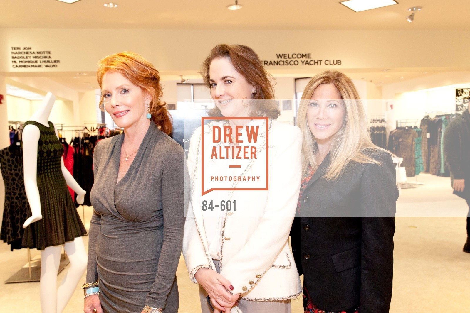 Maureen Herr, Lisa Harris, Renee Poulos, SAKS FIFTH AVENUE and HARPER'S BAZAAR Host the San Francisco Yacht Club, US, October 9th, 2014