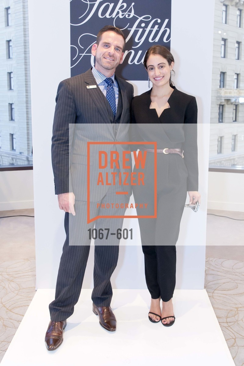Ryan Williams, Michelle Fawbush, SAKS FIFTH AVENUE and HARPER'S BAZAAR Host the San Francisco Yacht Club, US, October 8th, 2014,Drew Altizer, Drew Altizer Photography, full-service agency, private events, San Francisco photographer, photographer california