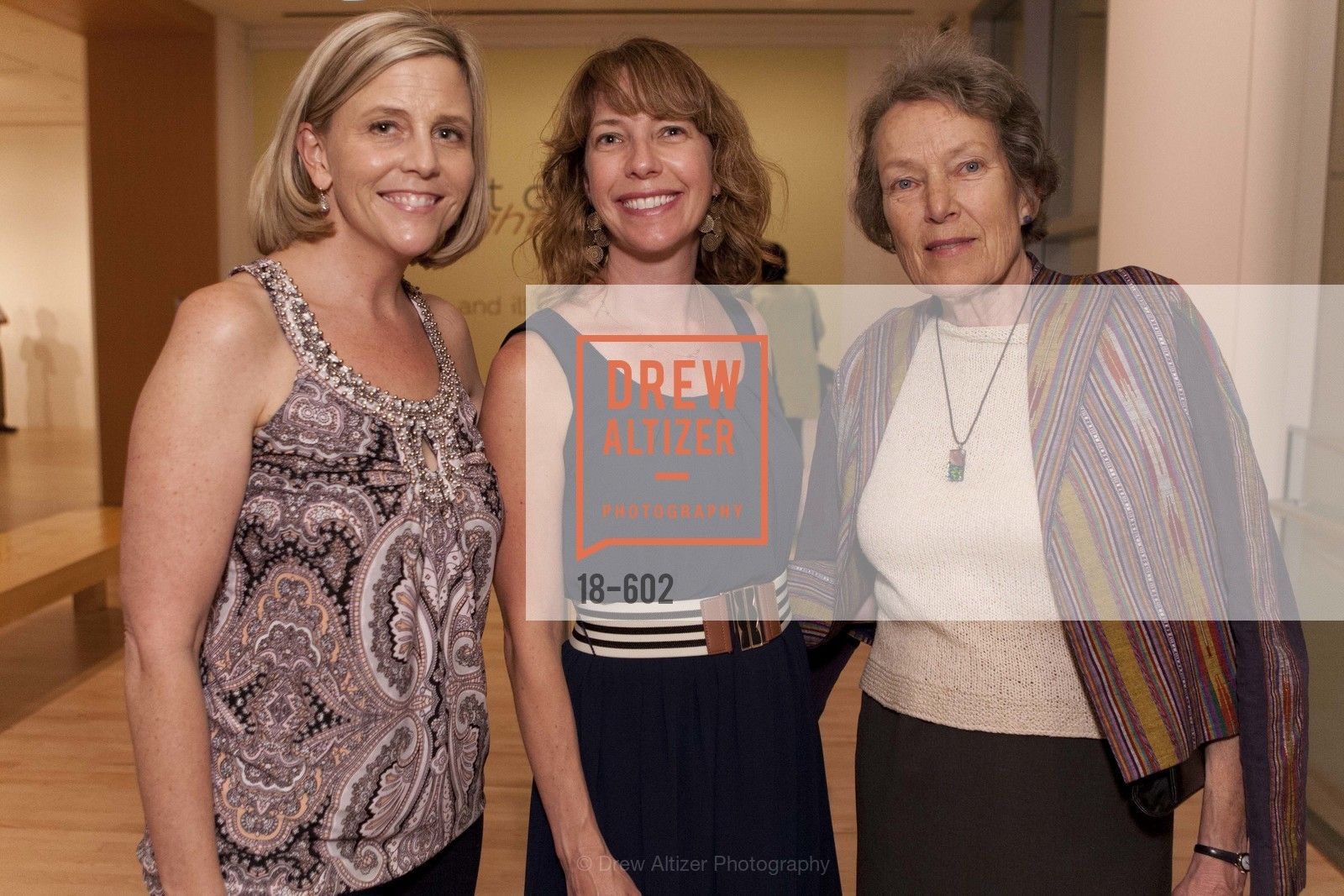 Elizabeth Striebeck, Lucy Larson, Doris Burgess, SAN JOSE MUSEUM OF ART Fall Reception Opening, US, October 8th, 2014,Drew Altizer, Drew Altizer Photography, full-service agency, private events, San Francisco photographer, photographer california