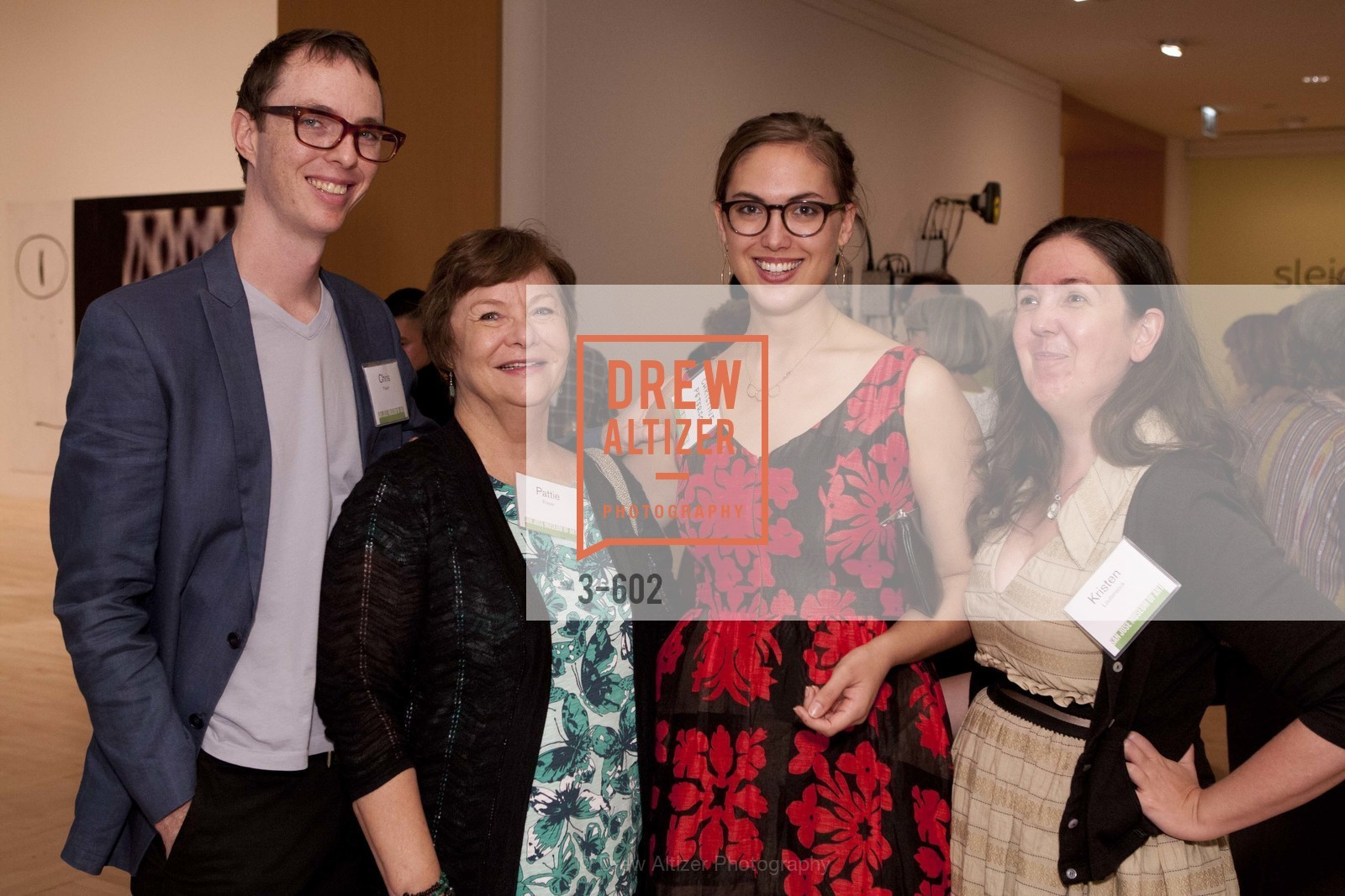 Chris Fraser, Patty Fraser, Christine Peterson, Kristen Loutensock, SAN JOSE MUSEUM OF ART Fall Reception Opening, US, October 9th, 2014,Drew Altizer, Drew Altizer Photography, full-service agency, private events, San Francisco photographer, photographer california