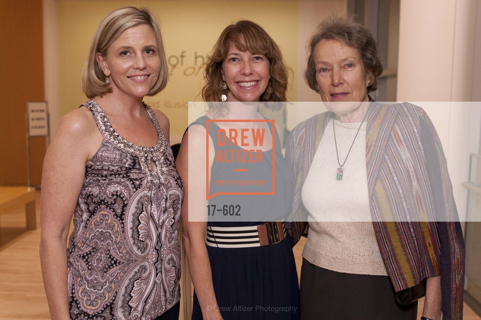 Elizabeth Striebeck, Lucy Larson, Doris Burgess, SAN JOSE MUSEUM OF ART Fall Reception Opening, US, October 9th, 2014,Drew Altizer, Drew Altizer Photography, full-service agency, private events, San Francisco photographer, photographer california