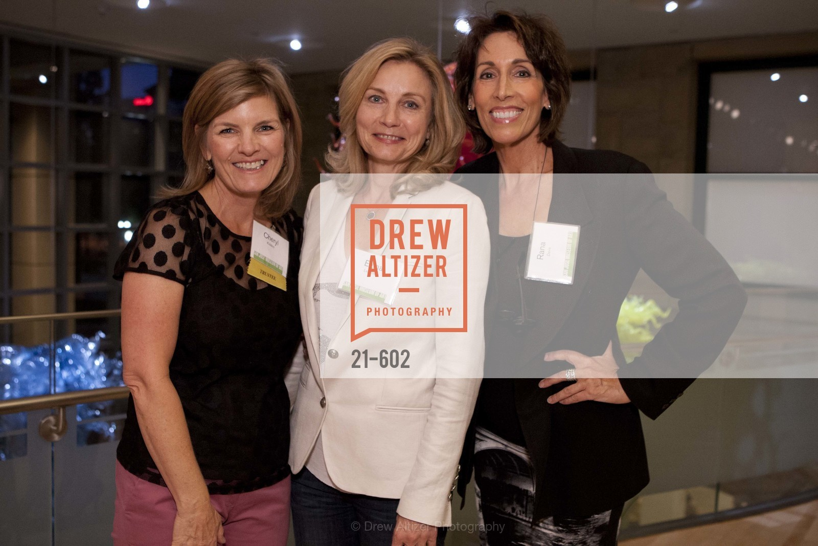 Cheryl Kiddoo, Elena Lebedeva, Rana Davis, SAN JOSE MUSEUM OF ART Fall Reception Opening, US, October 8th, 2014,Drew Altizer, Drew Altizer Photography, full-service agency, private events, San Francisco photographer, photographer california