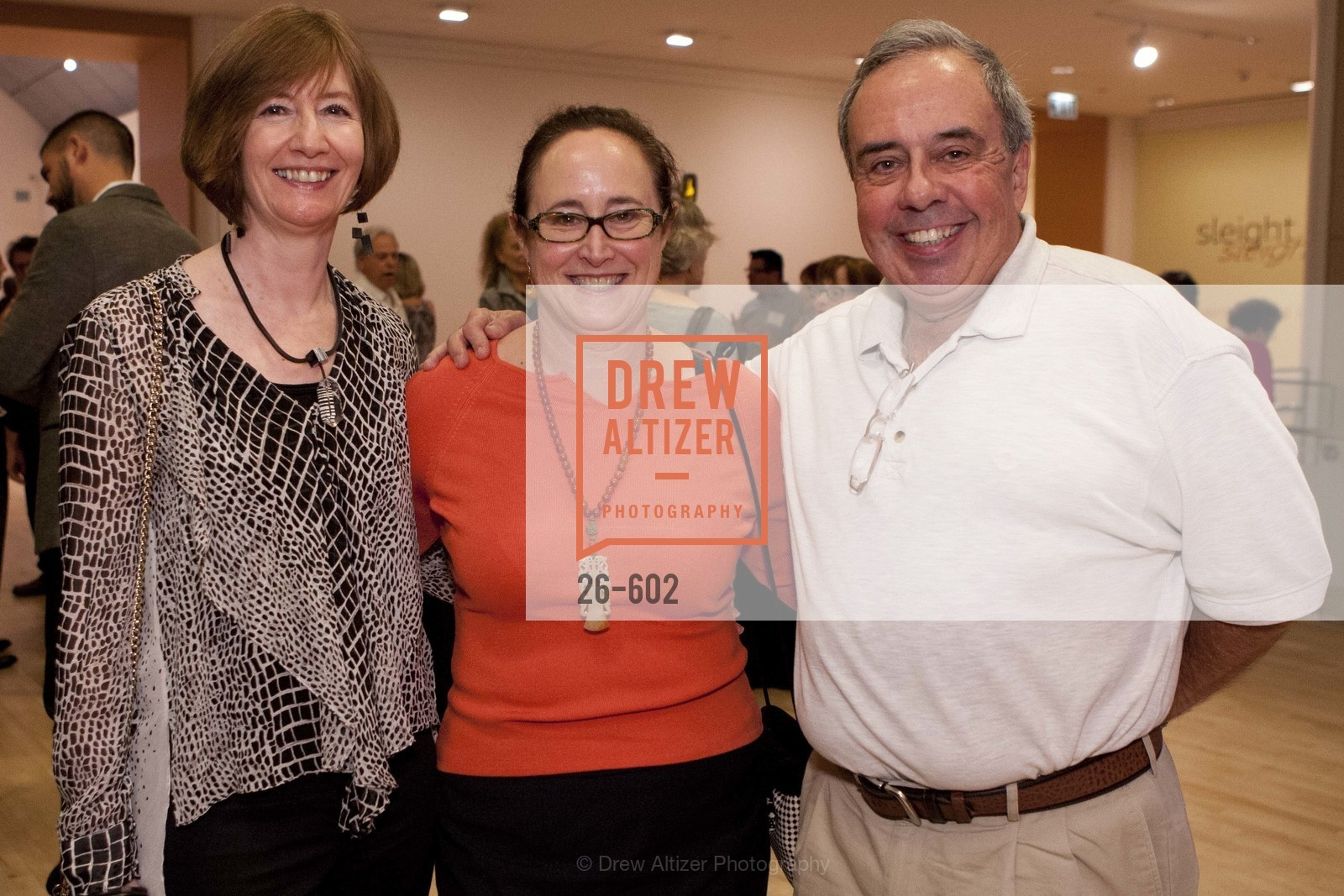Yvonne Nevins, Cornelia Pendleton, Mike Nevins, SAN JOSE MUSEUM OF ART Fall Reception Opening, US, October 9th, 2014,Drew Altizer, Drew Altizer Photography, full-service agency, private events, San Francisco photographer, photographer california