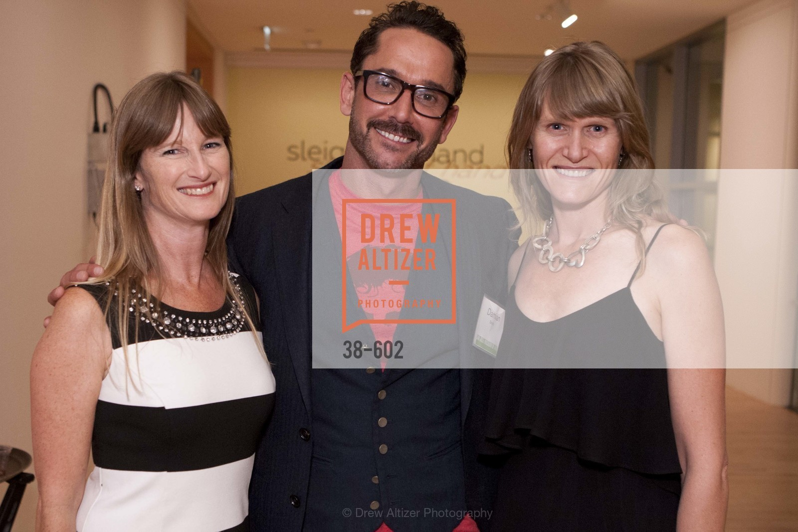 Jennifer Roseborough, Damian Smith, Janette Karthaus, SAN JOSE MUSEUM OF ART Fall Reception Opening, US, October 8th, 2014,Drew Altizer, Drew Altizer Photography, full-service agency, private events, San Francisco photographer, photographer california