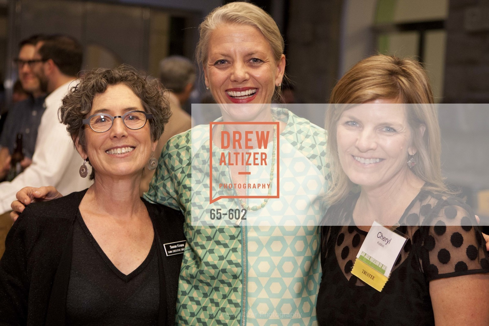 Susan Krane, Catherine Clark, Cheryl Kiddoo, SAN JOSE MUSEUM OF ART Fall Reception Opening, US, October 8th, 2014,Drew Altizer, Drew Altizer Photography, full-service agency, private events, San Francisco photographer, photographer california