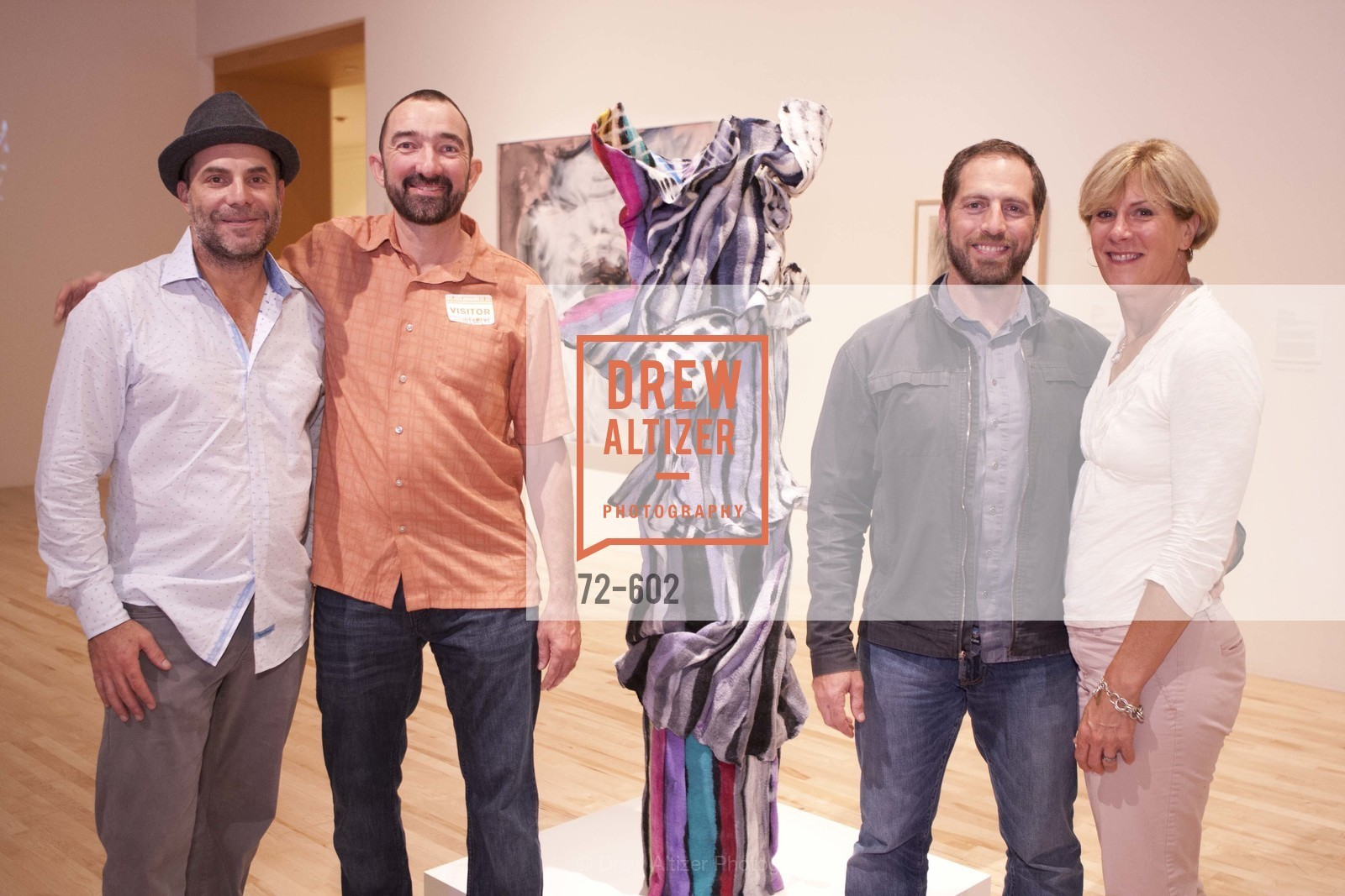 Aaron Gladman, Josh Baxter, Josh Holtzman, Beverly Aabjerb, SAN JOSE MUSEUM OF ART Fall Reception Opening, US, October 9th, 2014,Drew Altizer, Drew Altizer Photography, full-service agency, private events, San Francisco photographer, photographer california